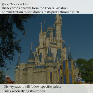 Airline Accident Lawyer - Disney Gets Federal Approval to Fly Drones