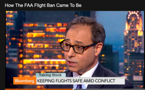 Bloomberg Interview: Aviation Accident Attorney Jonathan C. Reiter Discusses Recently Imposed FAA Israel Flight Restrictions