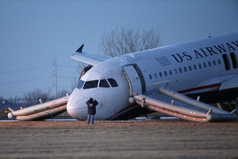 Pilot Error Caused US Airways Crash That Forced Emergency ...