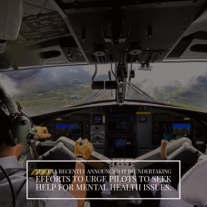 FAA Wants Pilots to Get Mental Health Checks