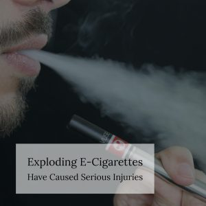 New York Defective Products Lawyer Discusses FDA Takes Action on Exploding E-cigarettes