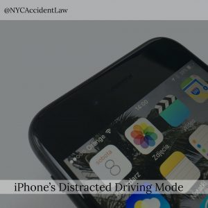iPhones Distracted Driving Mode