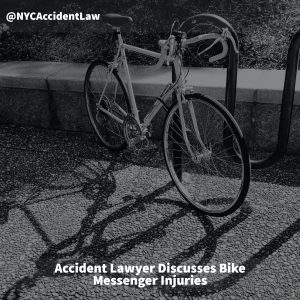 Accident Lawyer Discusses Bike Messenger Injuries