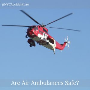 Are Air Ambulances Safe?