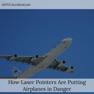 How Laser Pointers Are Putting Airplanes in Danger