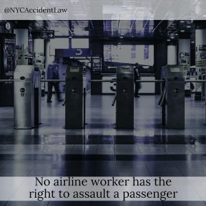 What to Do If You're Assaulted by an Airport Worker
