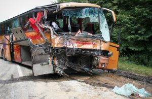 Determining tour bus accident liability is dependent on the specific circumstances that led to the event.